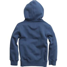 Fox Legacy Moth Zip Fleece Jacket Barn dusty blue